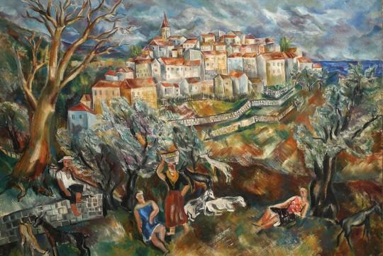 Valentine Prax, Landscape, 1925
