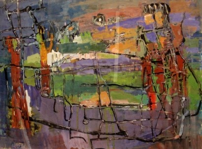 Figures in a Landscape, 1956