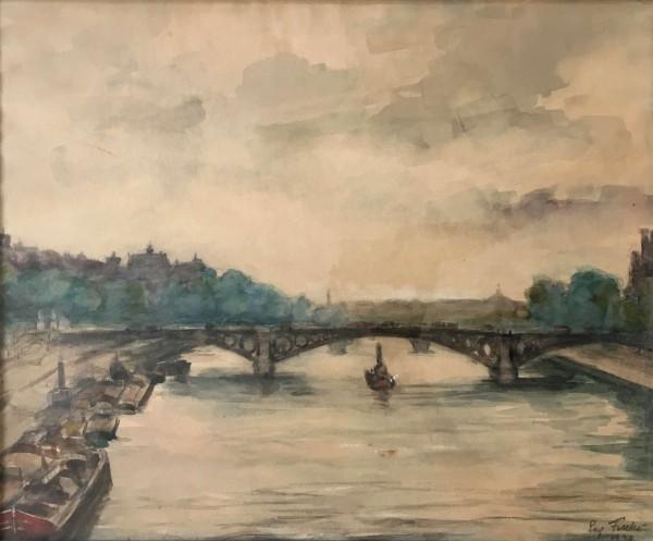 Boat in the River, 1934