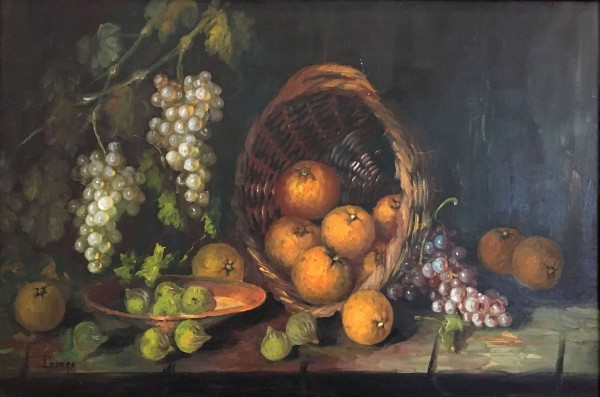 Still Life and Oranges