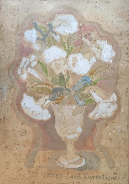 Irises and Carnations, 1979